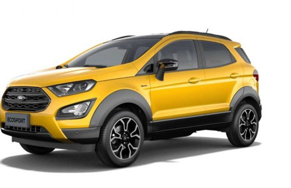 2021 Ford EcoSport Active Leaked Images Show The Mildy Rugged SUV