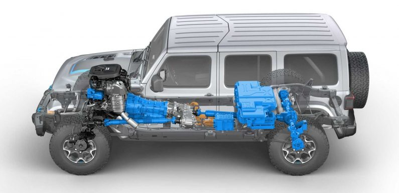 Here's The Low-Down On The Upcoming Jeep Wrangler 4xe PHEV