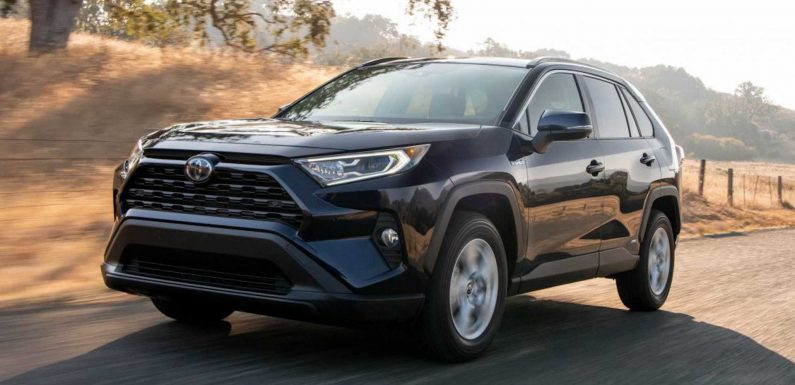 New Toyota RAV4 Hybrid Trim Falls Between Entry-Level And Top-Tier