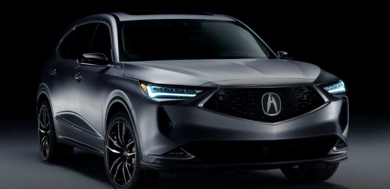 2022 Acura MDX Prototype First Look: Taking a Turn for the Sporty