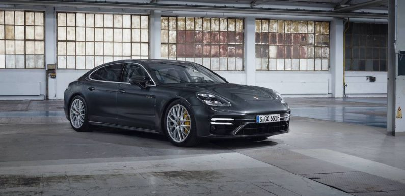 2021 Porsche Panamera Hybrid Lineup Packs More Power, Range