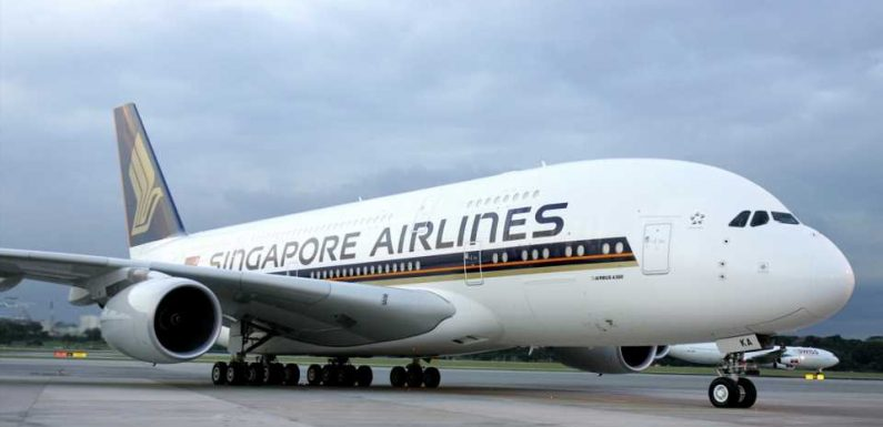 Singapore Airlines' Parked Airbus A380 Restaurant Service Sells Out in 30 Minutes