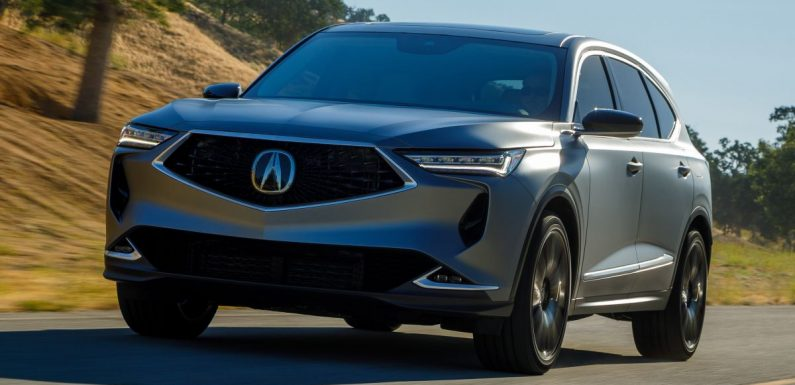 Acura MDX Prototype revealed – previews production version of all-new, three-row SUV arriving early 2021 – paultan.org