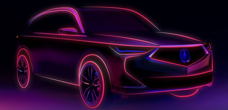 New Acura MDX Prototype to be revealed on Oct 14 – paultan.org