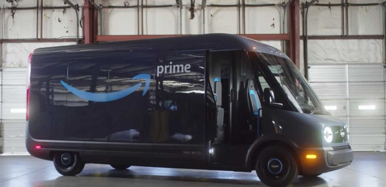 Amazon and Rivian team up for new electric delivery van