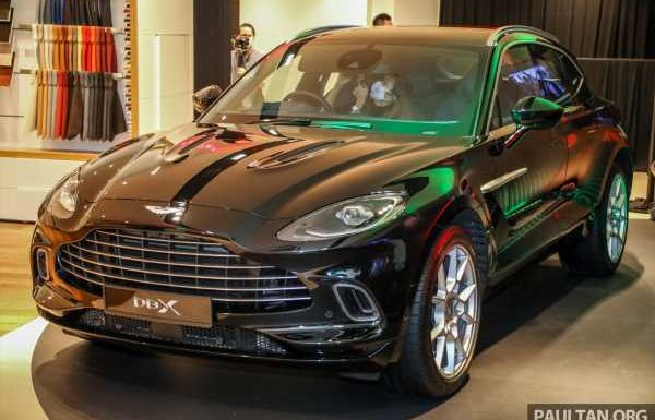 Aston Martin DBX SUV launched in Malaysia – AMG 4.0L V8 with 550 PS and 700 Nm, RM818k before tax – paultan.org