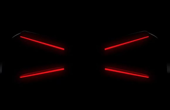 Bugatti Teases New Model With X-Wing-Like Taillights