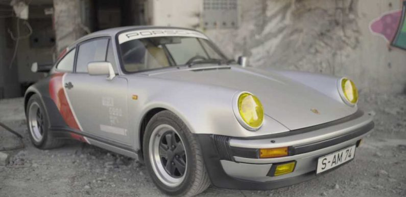 Porsche 911 Turbo From Cyberpunk 2077 Brought to Life