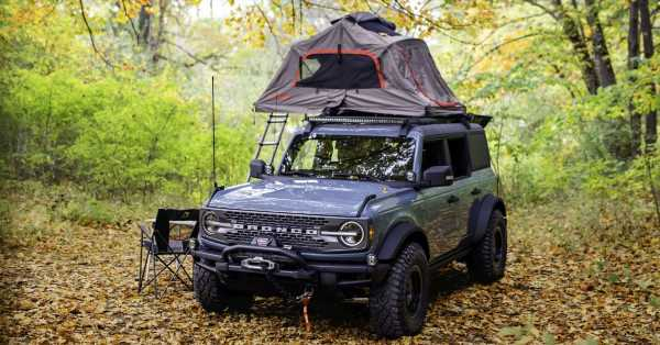 Ford Bronco Overland concept – off-road accessories showcased on 2.3 litre EcoBoost four-door version – paultan.org