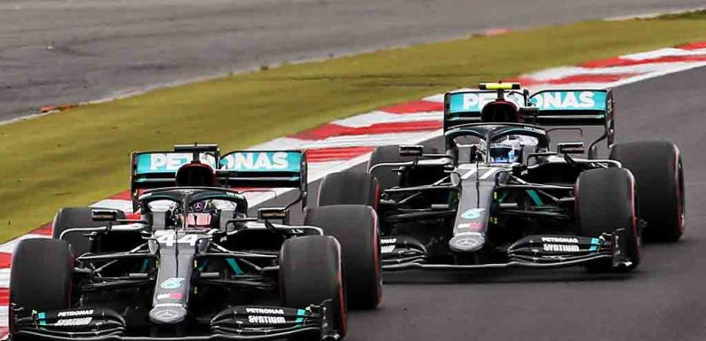 'Lewis Hamilton was driving both Mercedes in Eifel GP' | Planet F1