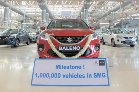 1 millionth car rolls out of Maruti Suzuki's Gujarat plant