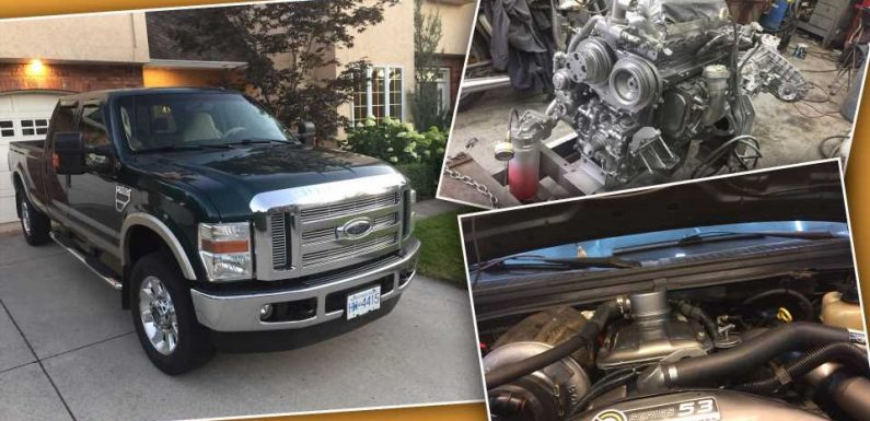 Swapping a 40-Year-Old Detroit Diesel Into a 2009 Ford Super Duty Takes So Much Work