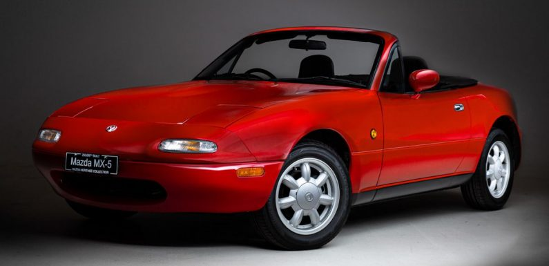 Mk1 Mazda MX-5 restoration programme expanded to Europe – 117 left-hand drive, 156 right-hand drive parts – paultan.org