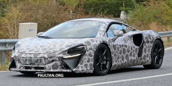 McLaren all-new PHEV supercar due soon, with 600 hp – paultan.org
