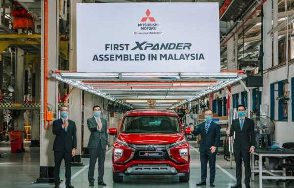 First Mitsubishi Xpander rolls off Pekan assembly line – mass production officially starts, launch next month – paultan.org