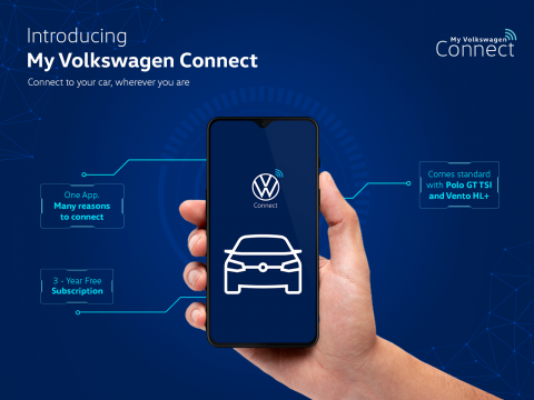 My Volkswagen Connect app now offered on Polo & Vento