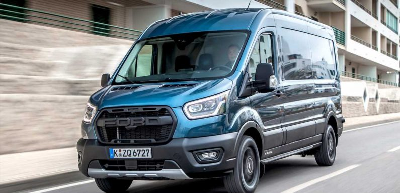 New Ford Transit Trail AWD van review