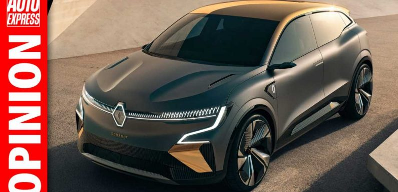 'The reveal of the Renault Megane eVision is hugely significant for the brand'