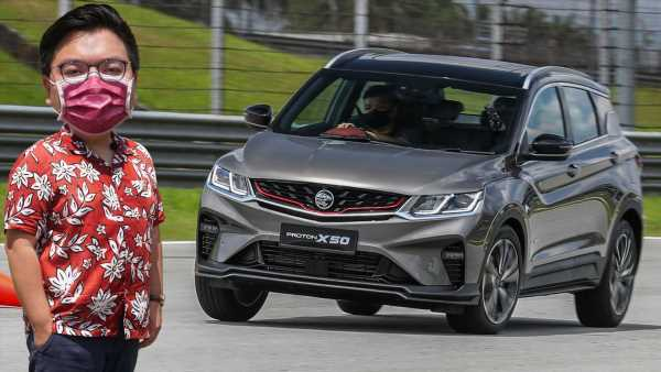 VIDEO: Proton X50 – how does it handle a slalom with suspension softened for Malaysian road conditions? – paultan.org