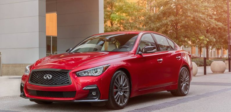 2021 Infiniti Q50 Gets More Safety Tech, New Trim