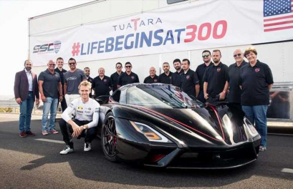SSC Tuatara claims title of world's fastest production car with 331mph run