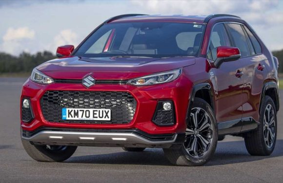 The Suzuki Across Is a Toyota RAV4 Prime Rebadged for Europe