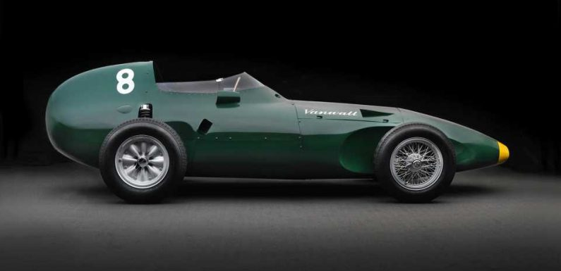 1958 F1 Championship-Winning Vanwall Continuation Cars Will Cost $2M Each