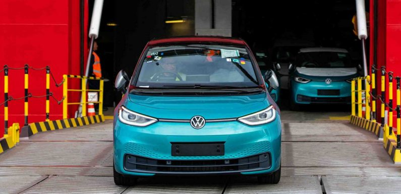 Sub-£30,000 Volkswagen ID.3 due to launch later this month