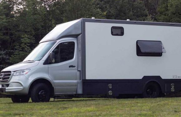 This Ordinary Looking Mercedes Sprinter Camper Is Extraordinary Inside