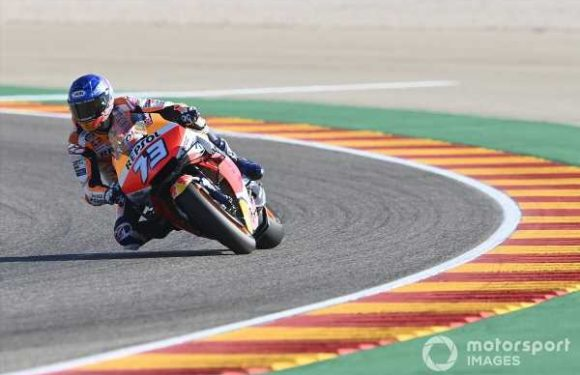 Marquez 'needs to be lucky' to mount Teruel podium charge
