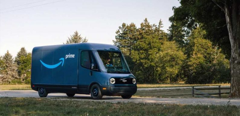 Here's Our First Real Look at Amazon's Rivian-Made Electric Delivery Van