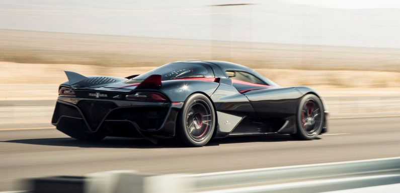 The SCC Tuatara Has Hit 331mph On A Closed Road, Claiming The Production Top Speed Record
