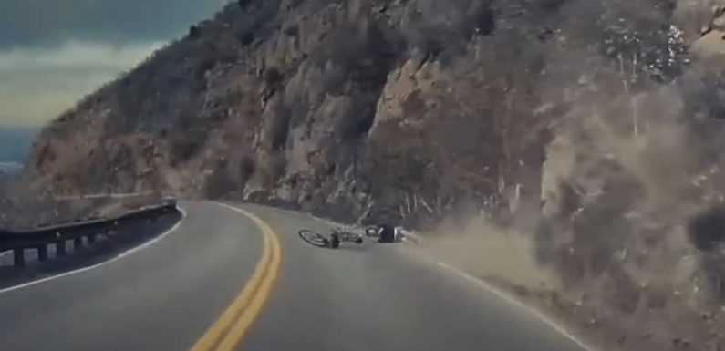 Tesla Model 3 Driver Rushes Cyclist To Hospital After Scary Crash