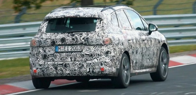 New BMW 2 Series Active Tourer Spied Lapping The Nurburgring