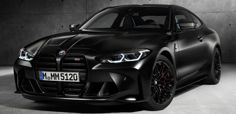 2021 BMW M4 Competition Gets Limited Edition Model Designed With Kith