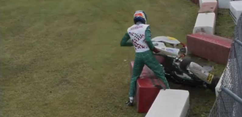 'Disgraceful' Pro Kart Racer Retires After Assaulting Competitor On and Off Track