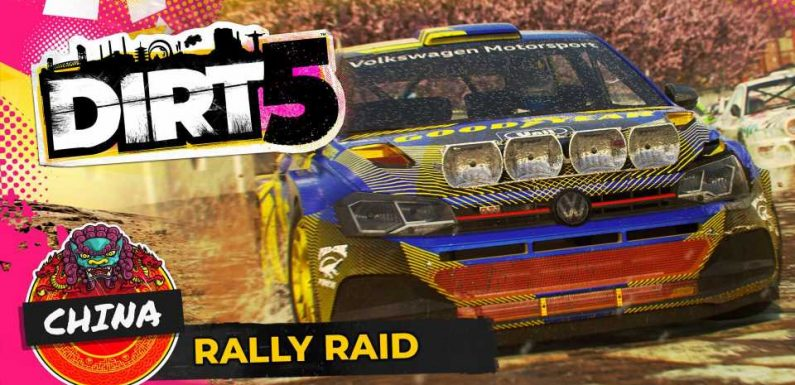 DIRT 5 Teaser Video Shows Rally Raid and China Location