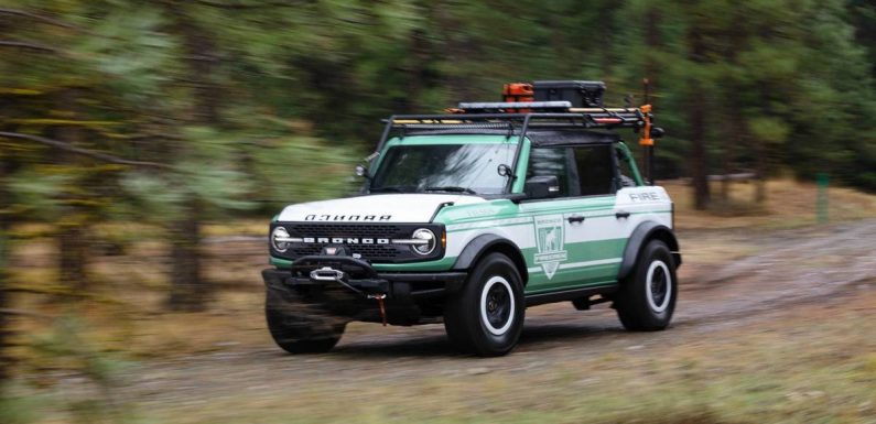 Ford Turns Up the Heat on Bronco With Forest Fire Concept