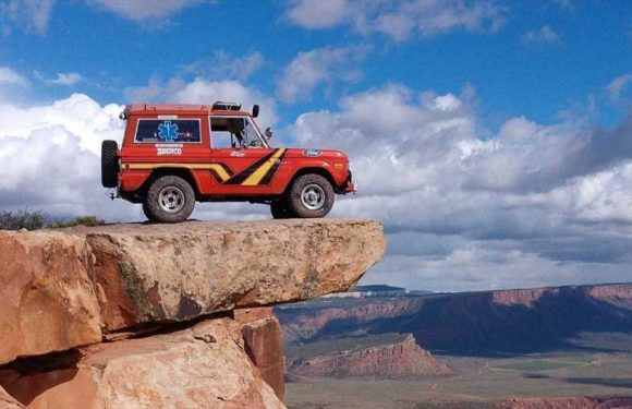 Ford Hints At Bronco Rescue Patrol Concept