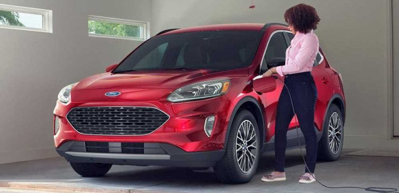 Ford Escape Plug-In Hybrid Launch Delayed Due To Fires While Charging