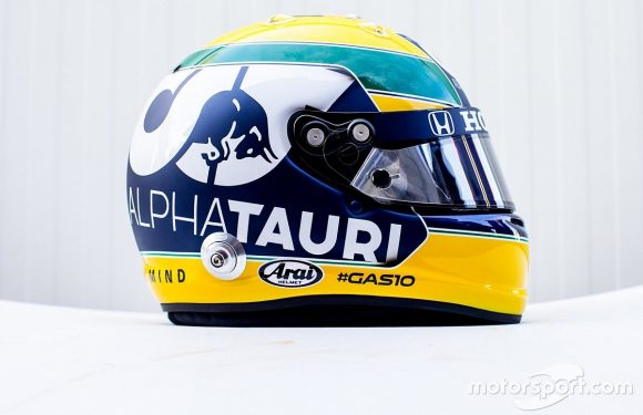 Gasly to run Senna F1 tribute helmet at Imola