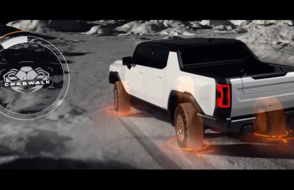 We Finally Get To See GMC Hummer EV Show Crab Walk Mode In Action