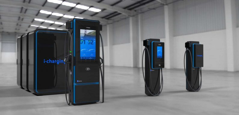 I-charging Introduces Blueberry 600 kW Fast Charging Systems