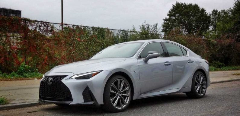 2021 Lexus IS 350 F Sport: Needed Updates Put the IS Back in the Game