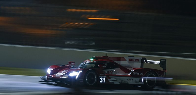 Petit Le Mans: AXR Cadillac leads with two hours to go