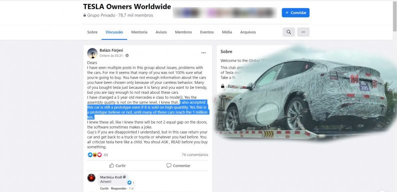 In Tesla's Defense, Fan Wildly Claims Company Sells Prototype Cars