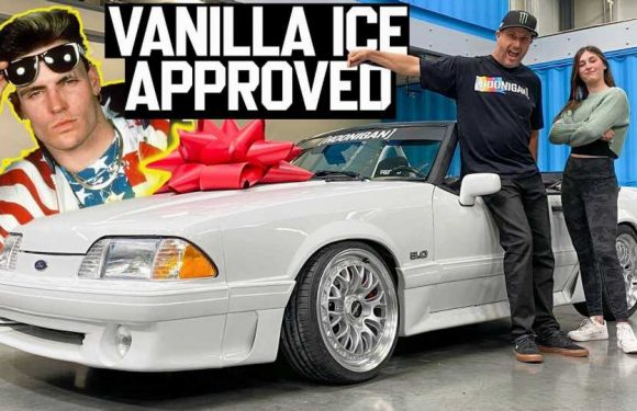 Ken Block Goes Full Vanilla Ice With 5.0 Mustang Gift For His Daughter