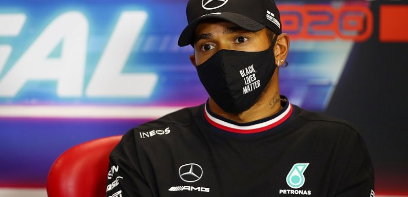 Hamilton: New Mercedes F1 contract 'probably' a formality
