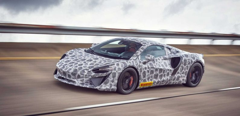 McLaren's Next All-New Model Will Have 600+ HP, 20 Miles Electric Range