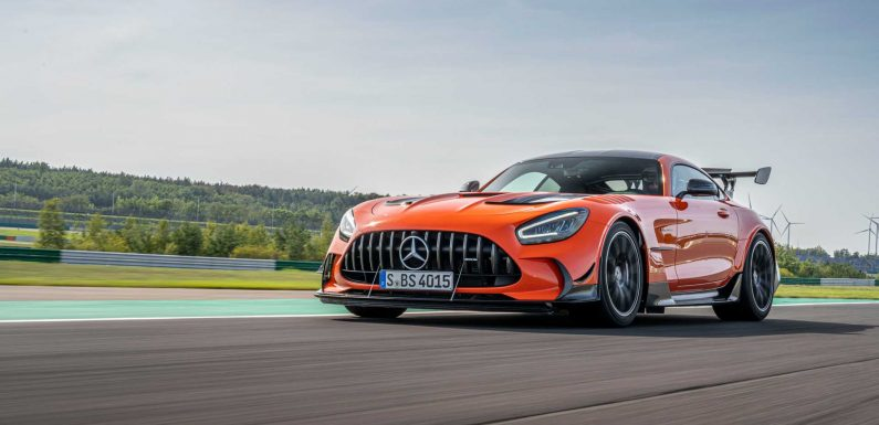Mercedes-AMG GT Black Series Faster Than 720S And Pista At Hockenheim